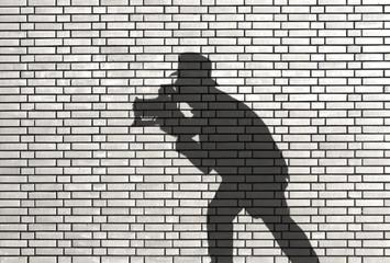 ombre de photographe