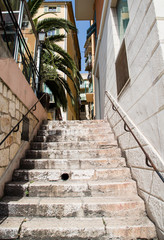 Concrete Steps in French Town