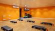big and empty fitness club