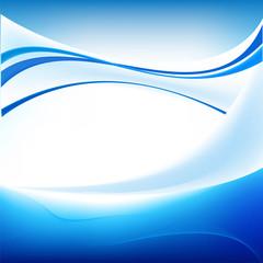 абстрактный фон голубая волна