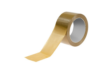 Roll of brown tape