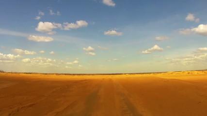 Desert Car Trip 01