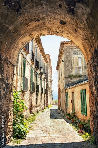 A picturesque corner in Tuscany, Italy - 57322267