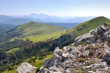 paysage montagneux de la Drôme