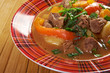 Irish stew with tender lamb meat