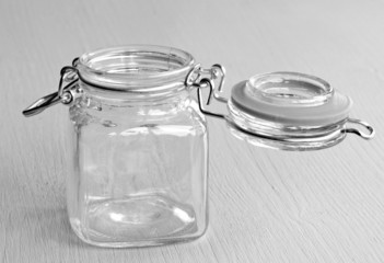 leeres einweckglas sw