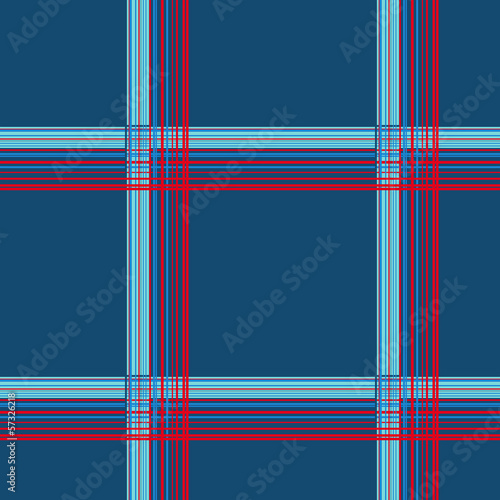 Blue checkered seamless pattern