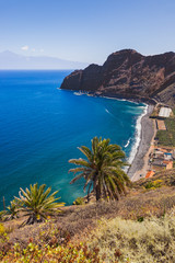 Beach in La Gomera island - Canary