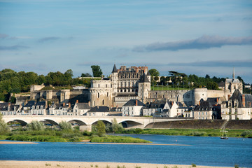 Amboise in Loire valley, France