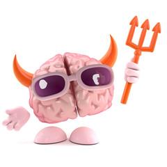 Devil brain