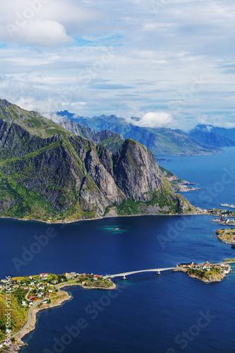 Fototapeten,norwegen,landschaft,arktis,boot