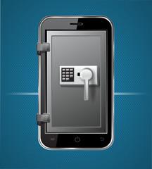 smartphone tresor
