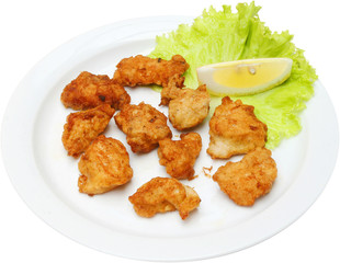 Chicken Barbecue with morsels