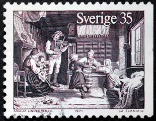 Country Dance Stamp