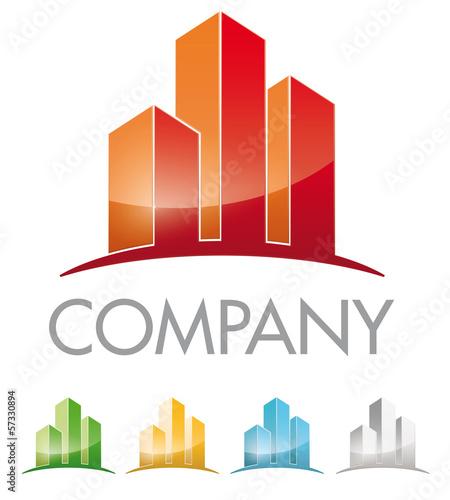 Logo für Immobilien Branche