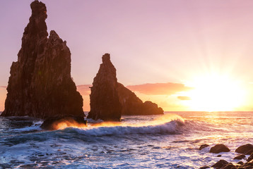 Sunset on Madeira