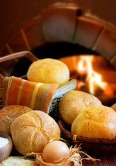 Bakery Bread and oven