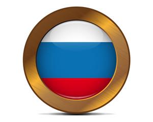 Russia bronze button