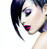 Fototapety Fashion Beauty Girl. Gorgeous Woman Portrait