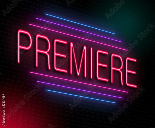 Premiere concept.