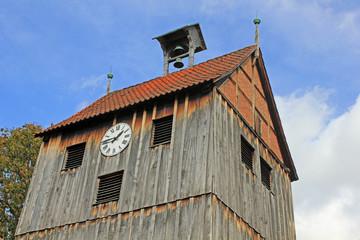 Wienhausen: Glockenturm der Marienkirche (Niedersachsen)