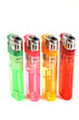 Colorful gas lighters