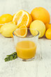 Healthy Orange juice