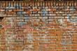 Muro con graffiti