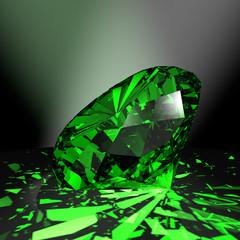 Smaragd - grüner Edelstein