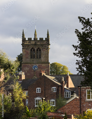 Ellesmere Shropshire Parish Church tower