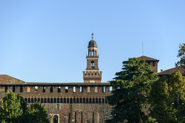 Castello Sforzesco (Milano, Italy)