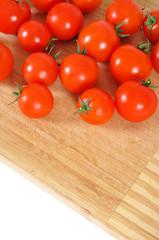Fresh small tomatoes