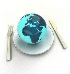 sample european cuisine of top class quality render