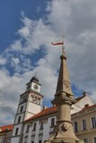 Old Town Hall in Trebon, Czech republic