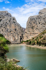 Gorge of the Gaitanes (El Chorro), Malaga, Andalusia, Spain