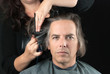 Man Getting Long Hair Cut Off For Cancer Fundraiser