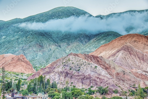 Hill of Seven Colors in Jujuy, Argentina. - 57353287
