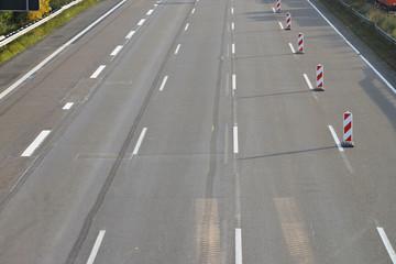 Autobahnspuren