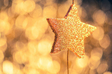abstract festive stars background