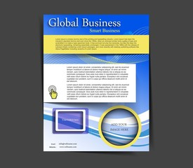 global business flyer