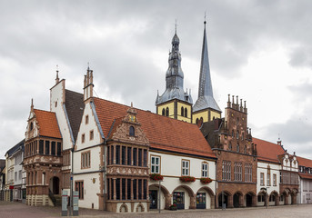 town hall of Lemgo, Germany