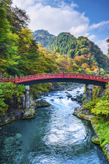 Sacred bridge in Nikko Japan © SeanPavonePhoto