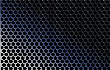 abstract techno metallic gradient grid vector illustration