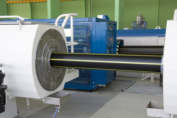 Polymers pipe