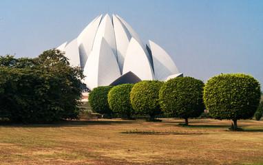 Lotus Temple in  Delhi. India