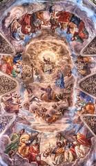 Fresco at the Basilica dei Santi Ambrogio e Carlo al Corso