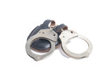 handcuffs isolated in white