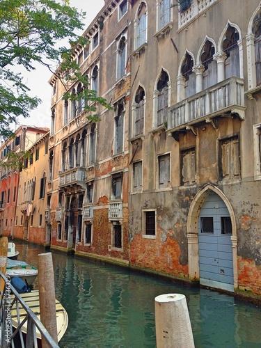 Kleine Strasse in Venedig