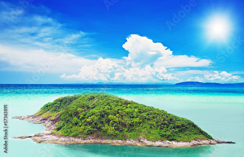 Fototapety, obrazy : Tropical island