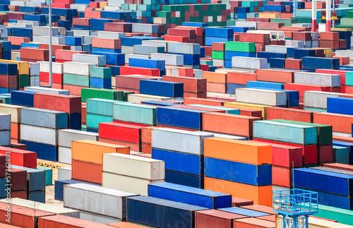 Aluminium container depot in terminal